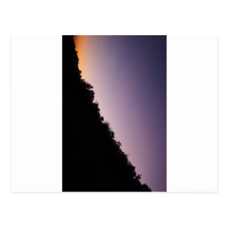De Schemering van het Park van de Canion van Briefkaart