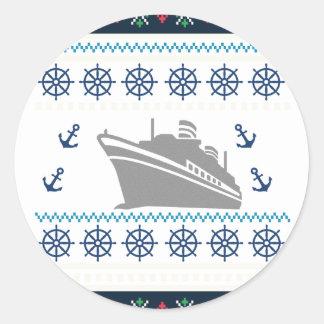 De Schepen van de cruise Ronde Sticker
