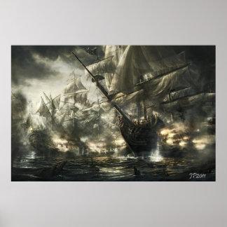De schepen van het spook poster