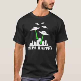 De Schepen van het UFO gebeuren T Shirt