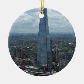De scherf, Londen Rond Keramisch Ornament