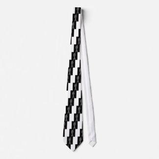 De SCHETS van CHAMPAGNE in wit op zwarte door Jill Persoonlijke Stropdas