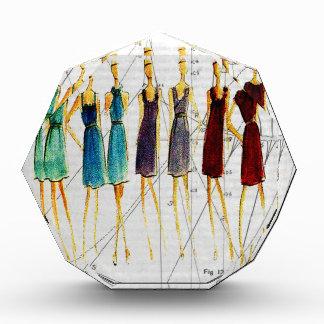 De schets van de mode acryl prijs