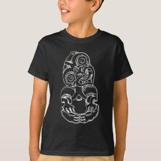 De Schets van hei-Tiki van Maori - Wit T Shirt