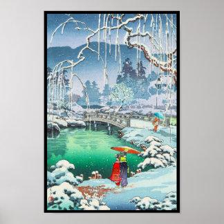 De Schetsen van Koitsu van Tsuchiya van Beroemde Poster