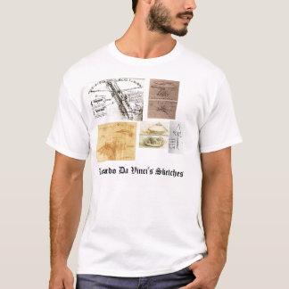 De Schetsen van Leonardo da Vinci T Shirt
