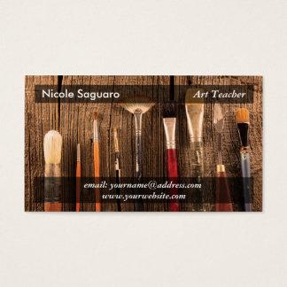 De Schilder van de kunstenaar Visitekaartjes