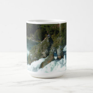 De schilderachtig Herfsten van Rijn in Zwitserland Koffiemok