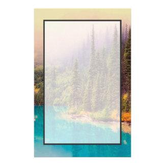 De schilderachtig Noordelijke Plattelander van het Briefpapier