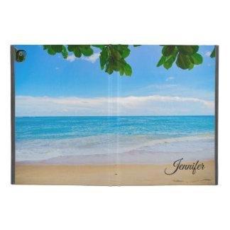 De schilderachtig Tropische Douane van het Zand en iPad Pro 9.7 Inch Hoesje