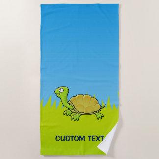 De Schildpad van de cartoon Strandlaken