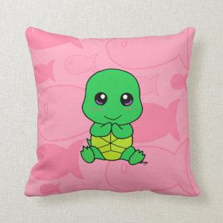 De schildpad van het baby sierkussen