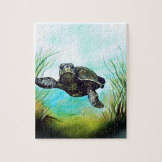 De Schildpad van het zee Legpuzzel