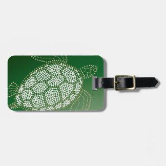 De Schildpad van het Zee van Hawaï Kofferlabel