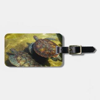 De Schildpadden van het zee Kofferlabels
