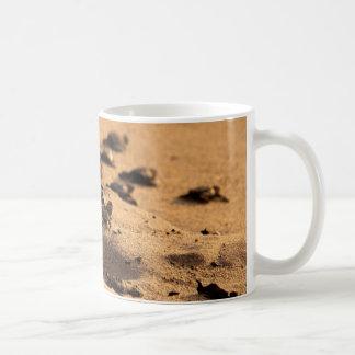 De Schildpadden van het zee Koffiemok