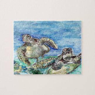 De Schildpadden van het zee Puzzel