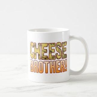 De schimmelkaas van de broer koffiemok