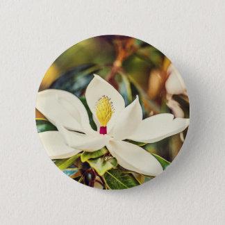 De schitterende Magnolia van de Mississippi Ronde Button 5,7 Cm