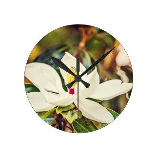 De schitterende Magnolia van de Mississippi Ronde Klok