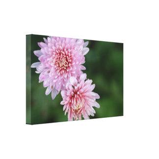 De schitterende Roze Bloemen Uitgerekte Druk van Canvas Afdrukken