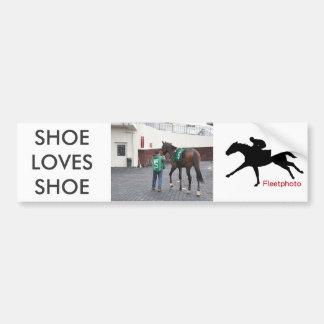 De schoen houdt van Schoen FTS Bumpersticker