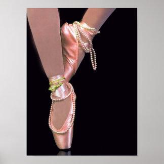 De Schoenen van het ballet Poster