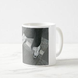 De Schoenen van het gesprek Koffiemok