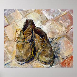 De Schoenen van Vincent van Gogh Poster