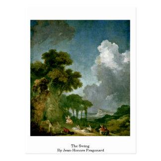 De schommeling door Jean-Honore Fragonard Briefkaart