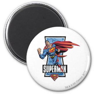 De Schommeling van de superman langs Ronde Magneet 5,7 Cm