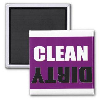 De schone Vuile Magneet van de Afwasmachine