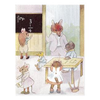 De School van Mevr. Owl's Briefkaart