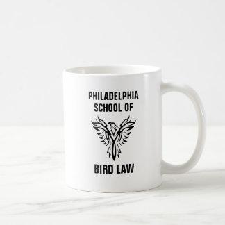 De School van Philadelphia van de Wet van de Vogel Koffiemok