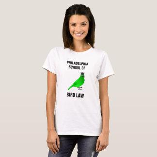 De School van Philadelphia van de Wet van de Vogel T Shirt