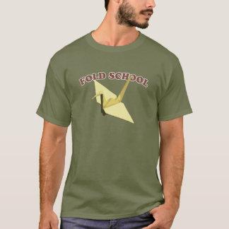 De School van vouwen (Origami) T Shirt