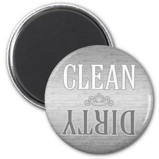 De schoon-vuile Magneet van de Afwasmachine