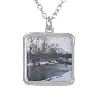 De Schoonheid James River van de sneeuw Zilver Vergulden Ketting