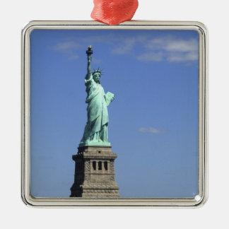 De schoonheid van het beroemde Standbeeld van Zilverkleurig Vierkant Ornament