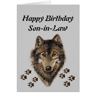 De Schoonzoon van de verjaardag, Wolf, Wolven, Briefkaarten 0
