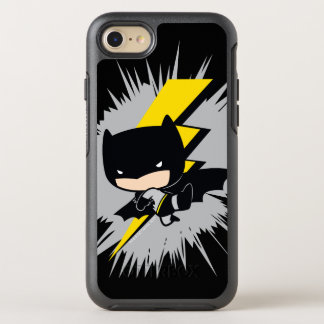 De Schop van de Bliksem van Batman van Chibi OtterBox Symmetry iPhone 8/7 Hoesje