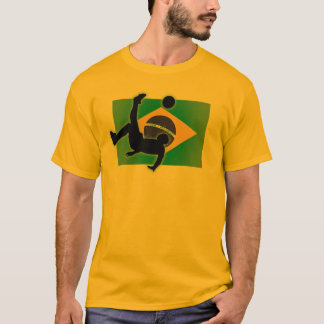 De Schop van de Fiets van Brazilië T Shirt