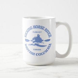 De schoppende Rivier van het Paard Koffiemok