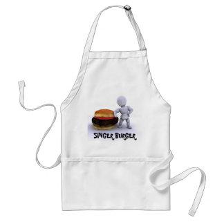 De Schort van de hamburger