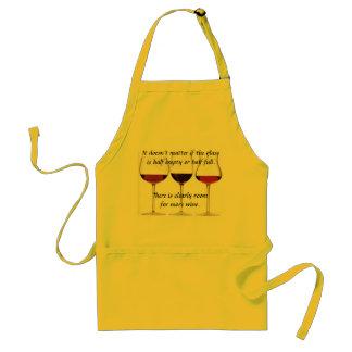 De Schort van de Minnaars van de wijn