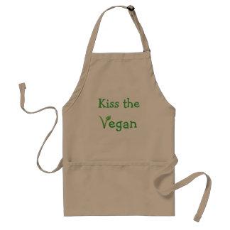 De Schort van de veganist KUST Leuke Grappig van