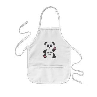 De schort van het kind van de panda