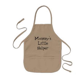 De Schort van Weinig Kind van de Helper van de mam