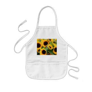 De Schort van zonnebloemen