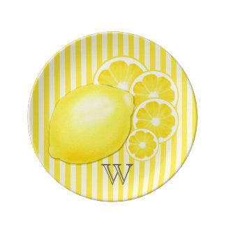 De Schotel van de Tribune van de limonade Porseleinen Bordjes